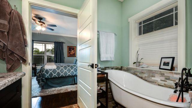 Tampa Custom Home Builder Blake Building master bath