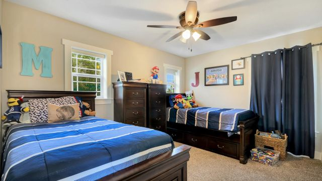 Tampa Custom Home Builder Blake Building child's bedroom