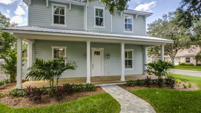 Tampa Custom Home Builder Blake Building front elevation