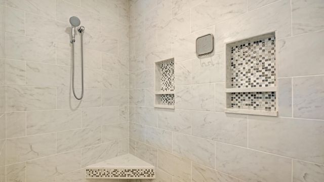 Tampa Custom Home Builder Blake Building shower
