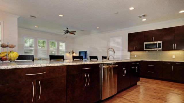 Tampa Custom Home Builder Blake Building open floorplan kitchen
