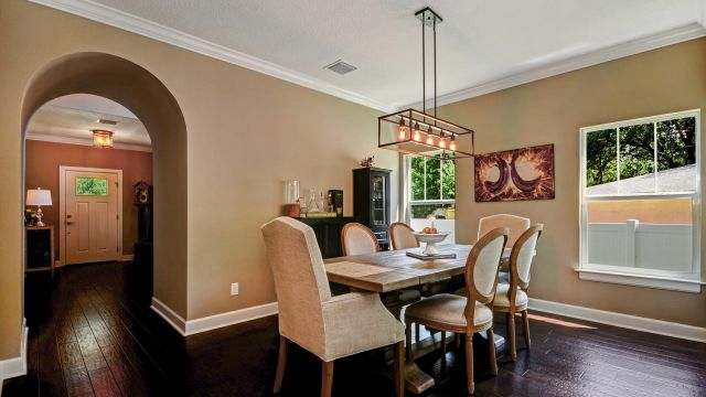 Tampa Custom Home Builder Blake Building dining room