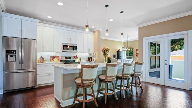 Tampa Custom Home Builder Blake Building open kitchen