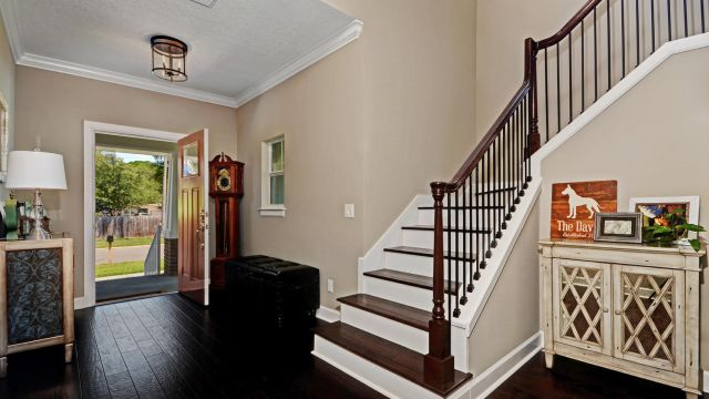 Tampa Custom Home Builder Blake Building Entry way