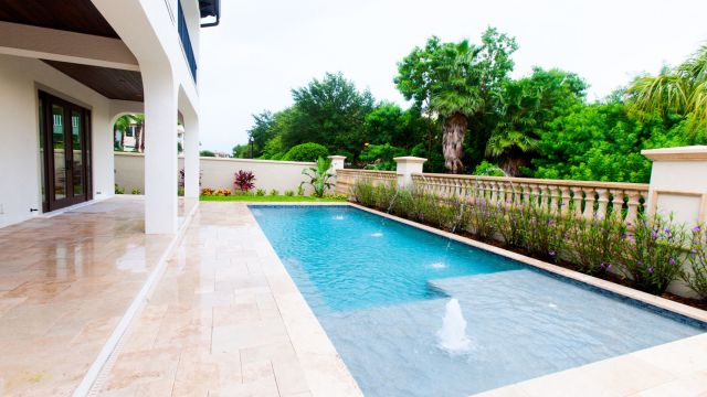 Tampa Custom Home Builder Blake Building Pool
