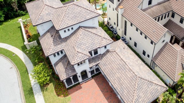 Tampa Custom Home Builder Blake Building tile roof