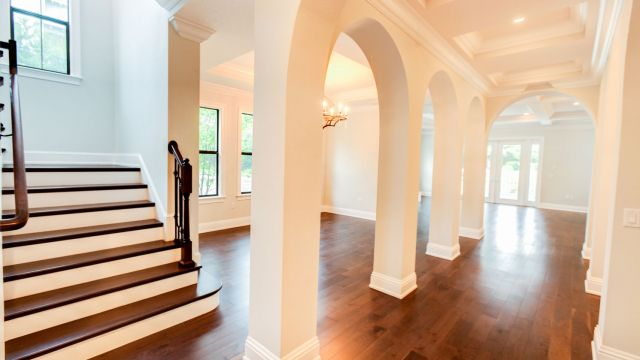 Tampa Custom Home Builder Blake Building grand entry